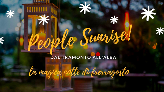 people sunrise - cover evento