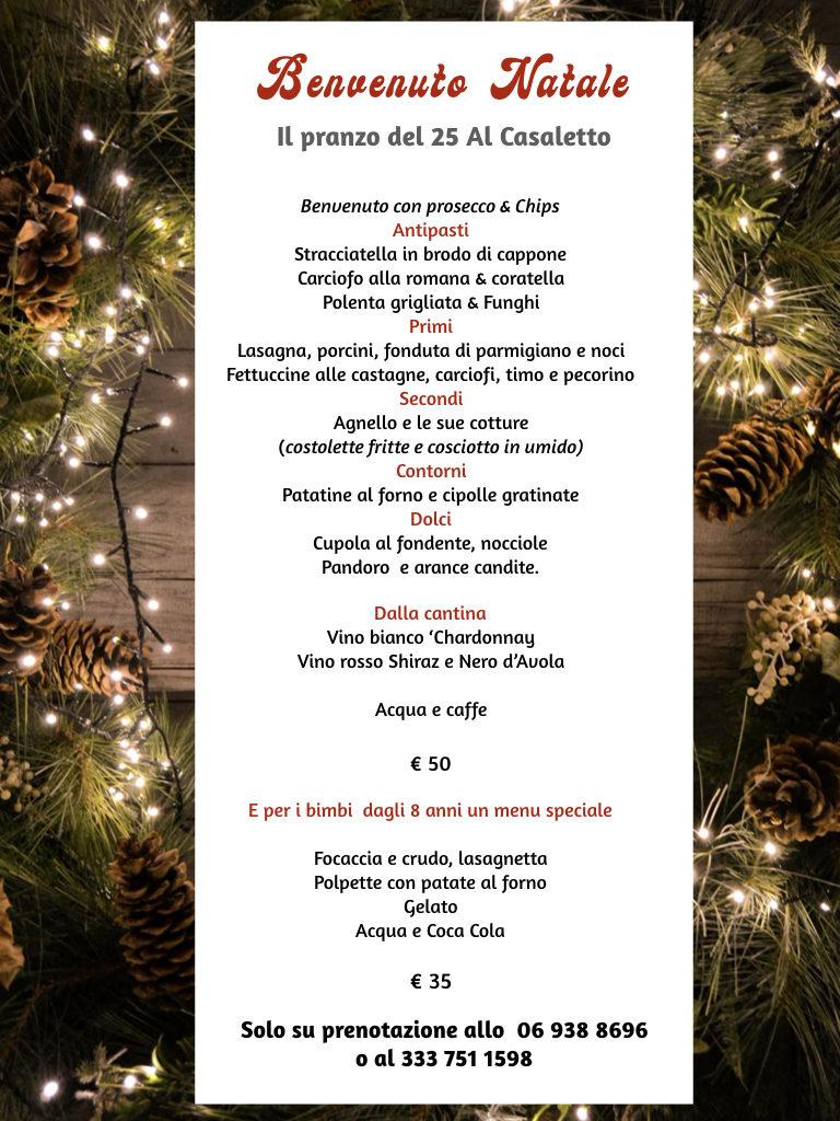 Al Casaletto - pranzo di Natale 2019 .001